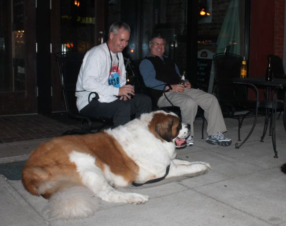 A Small Beer and a Big Dog, Preservation Pub, Knoxville, Fall 2012