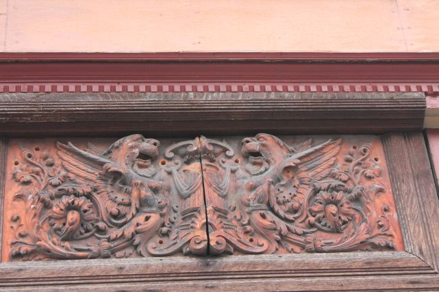 Architectural detail in the city, Knoxville, Fall 2012