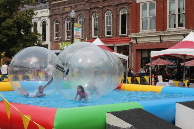 Children's Event on Market Square, Knoxville, Fall 2012
