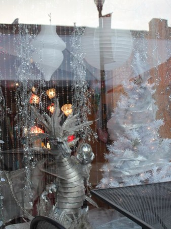 Christmas Window Displays, Earth to Old City, Market Square, Knoxville, December 2012