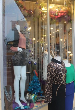 Christmas Window Displays, Fizz, Market Square, Knoxville, December 2012