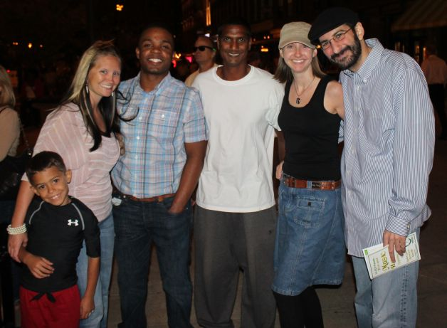 Friends on the Square, Market Square, Knoxville, Fall 2012