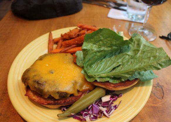 Grateful Dead Black Bean Burger, Tupelo Honey, Knoxville, Fall 2012