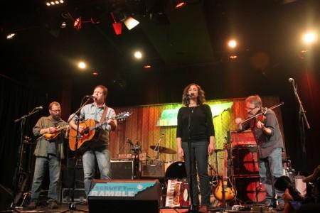 Kevin Abernathy and band, Scruffy City Ramble, Knoxville, November 2012