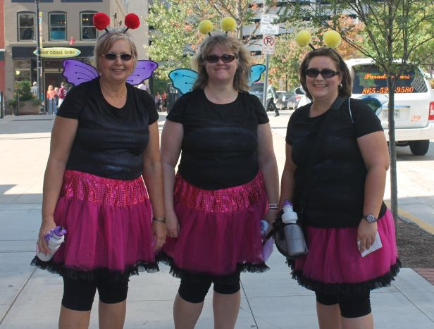 Ladies on Market Square, Knoxville, Fall 2012