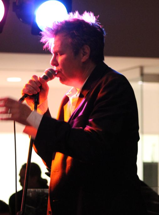 RB Morris with the Streamliners, Knoxville Museum of Art, Alive After Five, December 2012