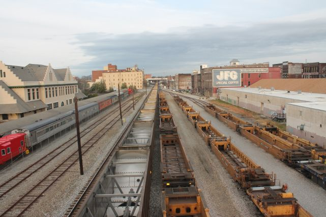 Train Yards, Knoxville, Fall 2012