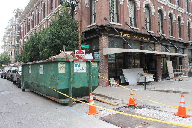 Tupelo Honey (Lest we forget what it looked like before), 1 Market Square, Knoxville, Fall 2012