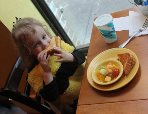 Urban Girl Loves Some Tupelo Honey Grilled Cheese, Knoxville, Fall 2012