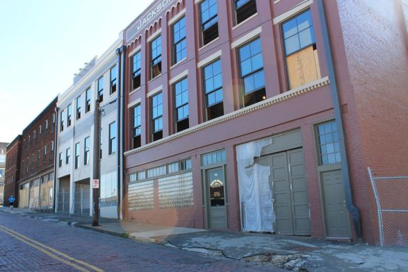 Armature Building, Knoxville, November 2011