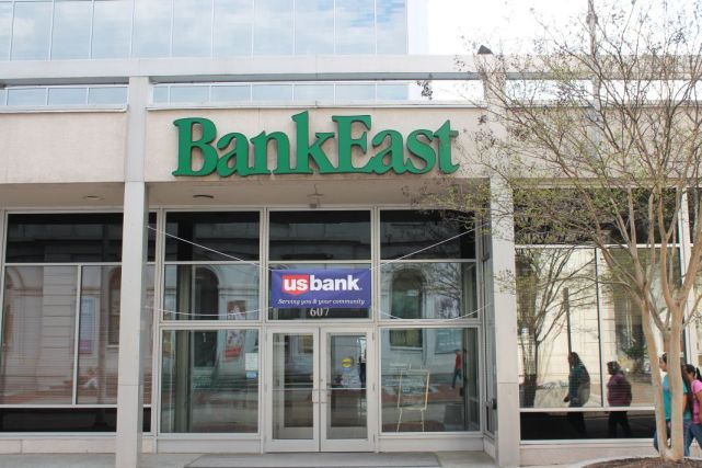 Bank East, Knoxville, March 2012
