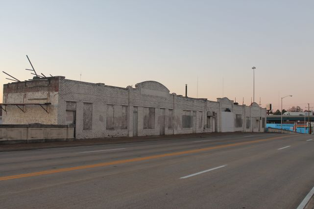 Broadway Viaduct Buildings, Knoxville, December 2012