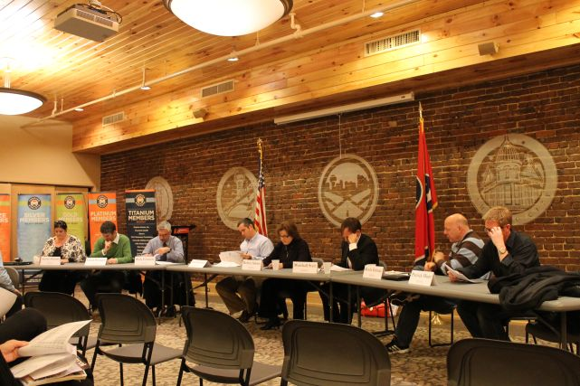 CBID Board Meeting, Knoxville, January 2013