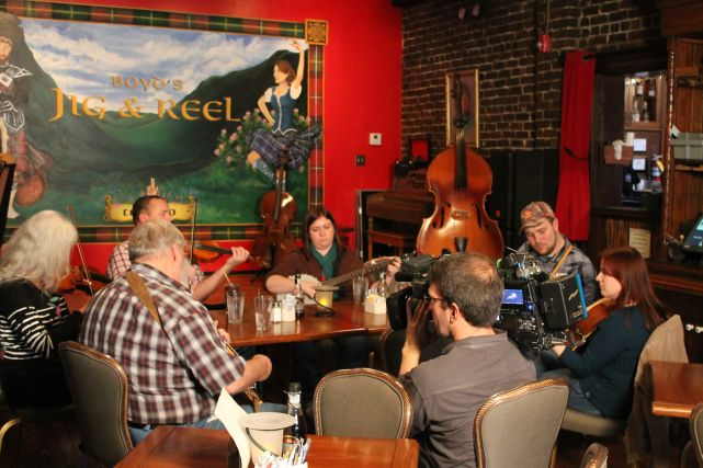 CNN Visits Boyd's Jig and Reel, Knoxville, January 2012