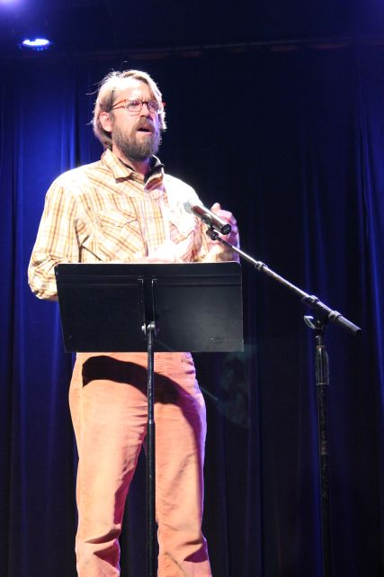 Chad Hellwinckle, Pecha Kucha, Square Room, Knoxville, January 2013