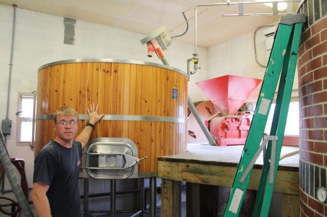 Dave Ohmer, Brew Master, Saw Works Brewing Compan