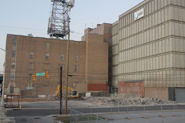 Demolished Building Site, Knoxville, December 2012