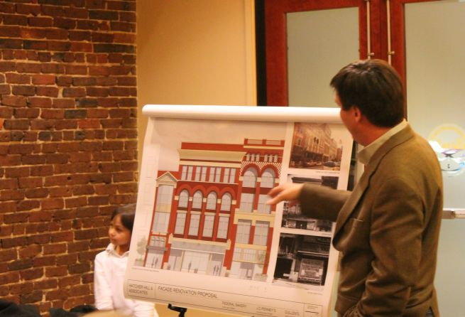 JC Penny Building Presentation, CBID Board Meeting, Knoxville, January 2013 (Proposed Appearance)