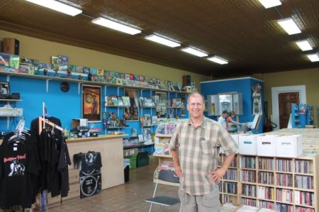 Jay Nations at Raven Records, Central Street, Happy Holler, Knoxville