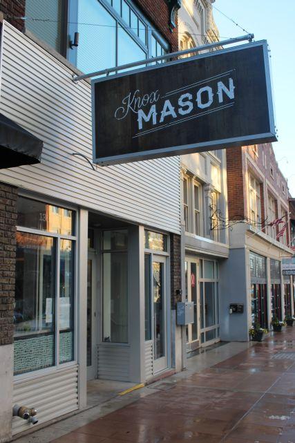 Knox Mason, 100 Block of Gay Street, Knoxville, January 2013