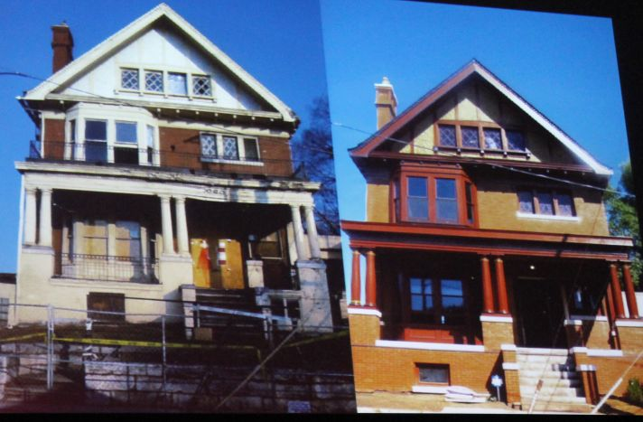 Mary Boyce Temple House, Before and After, Pecha Kucha, Knoxville, January 2013