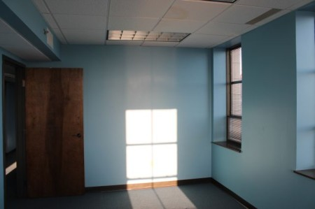 Current Interior Space, Medical Arts Building, Main Street, Knoxville, February 2013