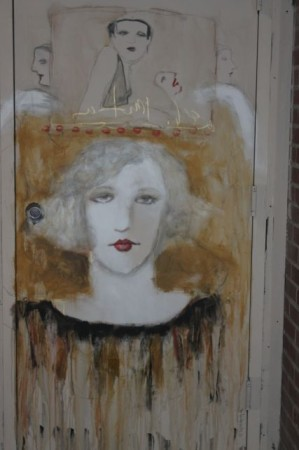 Cynthia Markert's work, Strong Alley, Knoxville, December 2012