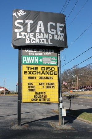 Disc Exchange Shopping Center, Chapman Highway, Knoxville, December 2012