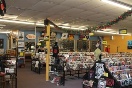 Disc Exchange, Chapman Highway, Knoxville, December 2012