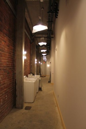 Hallway inside the Armature Building, Jackson Avenue, Knoxville, February 2013