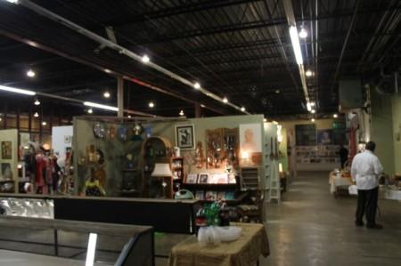 Interior of Nostalgia on McCalla, Knoxville, February 2013