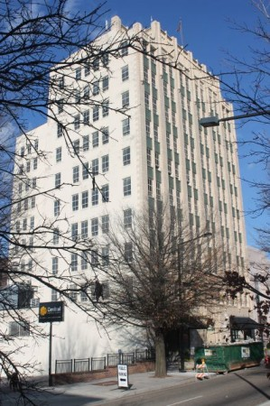 Medical Arts Building, Main and Locust, Knoxville, December 2012