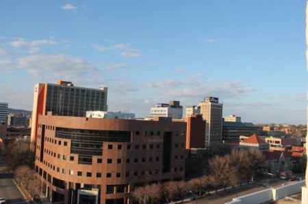 Northeastern View from the Medical Arts Building, Main Street, Knoxville, February 2013