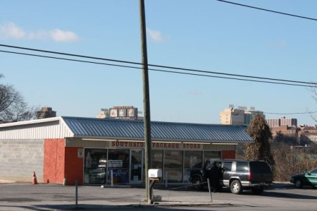 Southside Package Store, Chapman Highway, Knoxville, December 2012