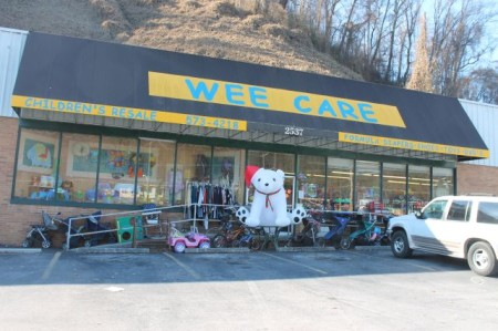 Wee Care, Chapman Highway, Knoxville, December 2012