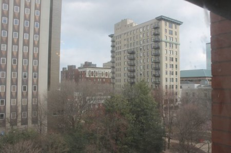 A View from the Arnstein Building, Union and Market Street, Knoxville, March 2013
