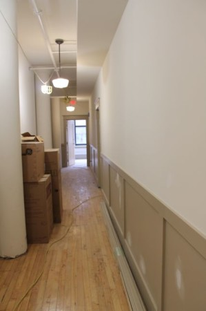 Arnstein Building Hallway, Union and Market Street, Knoxville, March 2013