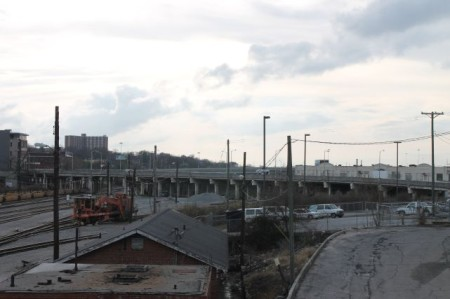 Broadway Viaduct before Demolition, December 2012, Knoxville