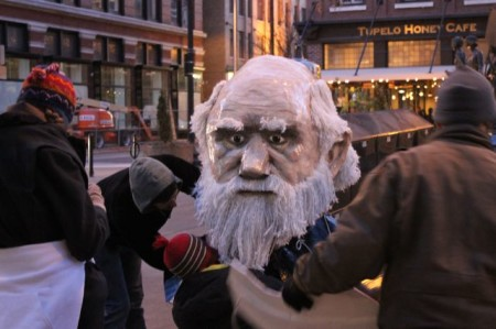 Decapitated Man, Market Square, Knoxville, February 2013