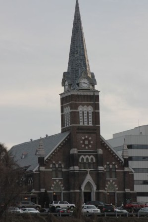 Immaculate Conception Catholic Church, Knoxville, Christmas Day 2012