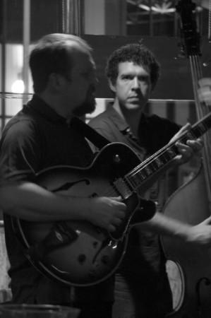 Jazz Quartet, Bistro at the Bijou, Knoxville, March 2013