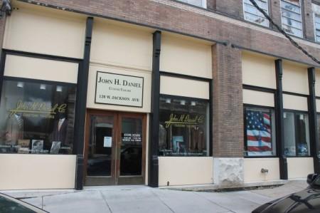 John H. Daniel, Old City, Knoxville, January 2013