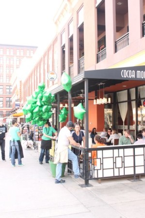 St. Patrick's Day on Market Square, Knoxville, March 2013