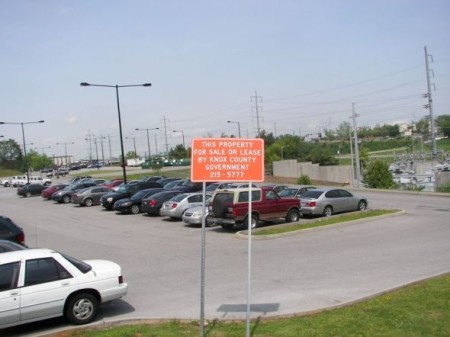 State Street Parking Lot, Knoxville, May 2011