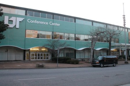 UT Conference Center, Locust Street, Knoxville, March 2013