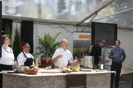 Chef Joseph, Food Tent at Market Square Art Fair, Dogwood Arts Festival, Knoxville, April 201