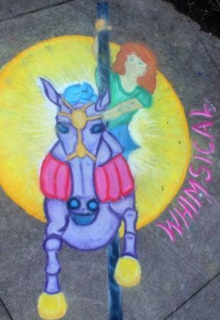 Knoxville Chalk Walk, April 2013