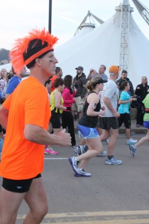 Knoxville Marathon Runner, April 2013