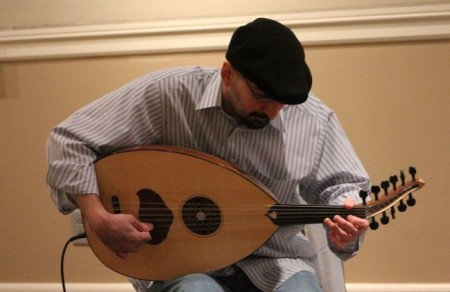 Laith Keilany at Shakesfest, East Tennessee History Center, Knoxville, April 2013