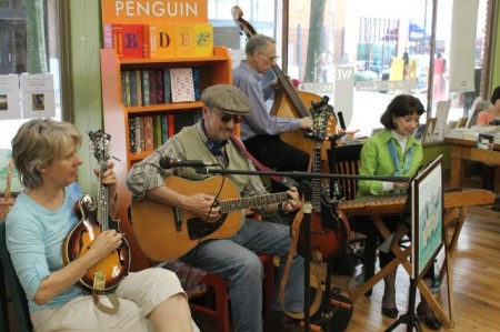 Music at Union Avenue Books, Knoxville, April 2013